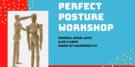Perfect Posture Workshop tickets
