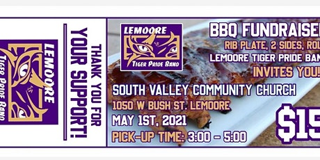 Lemoore High Band Boosters BBQ Rib Dinner tickets