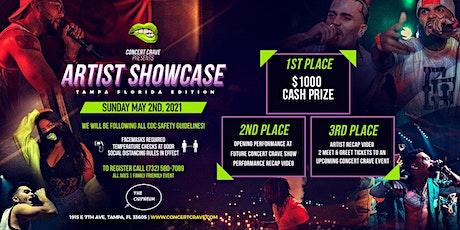 Concert Crave Artist Showcase - TAMPA, FL 5.2.21 tickets