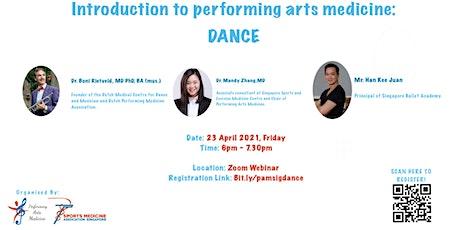 Introduction to Performing Arts Medicine: Dance biglietti