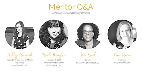 AU Career Cohorts Mentor Q&A biglietti
