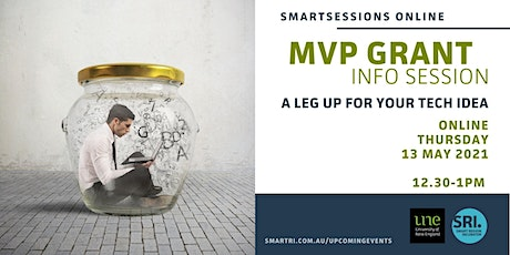 SMARTSessions – MVP Grant Info Session: a leg-up for your tech idea tickets