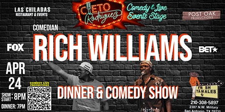 Comedian Rich Williams Live! tickets