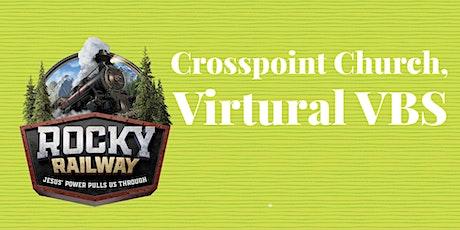 2021 OK Summer Virtual VBS - Rocky Railway tickets