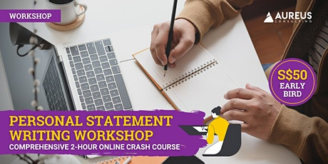 Personal Statement Writing Workshop (18th Apr 2021) tickets