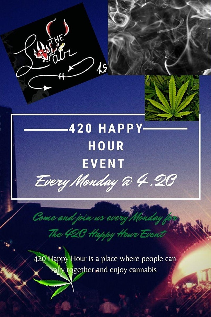 420 Happy Hour Event image