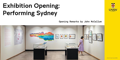 Performing Sydney Exhibition Opening Event tickets
