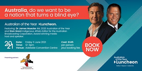 Australian of the Year Luncheon 2021 tickets