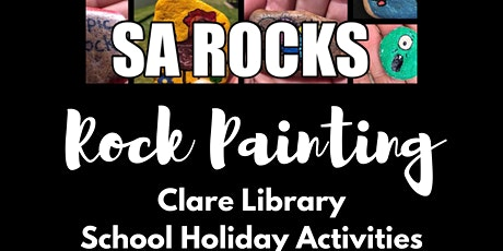 SA Rocks Rock Painting tickets
