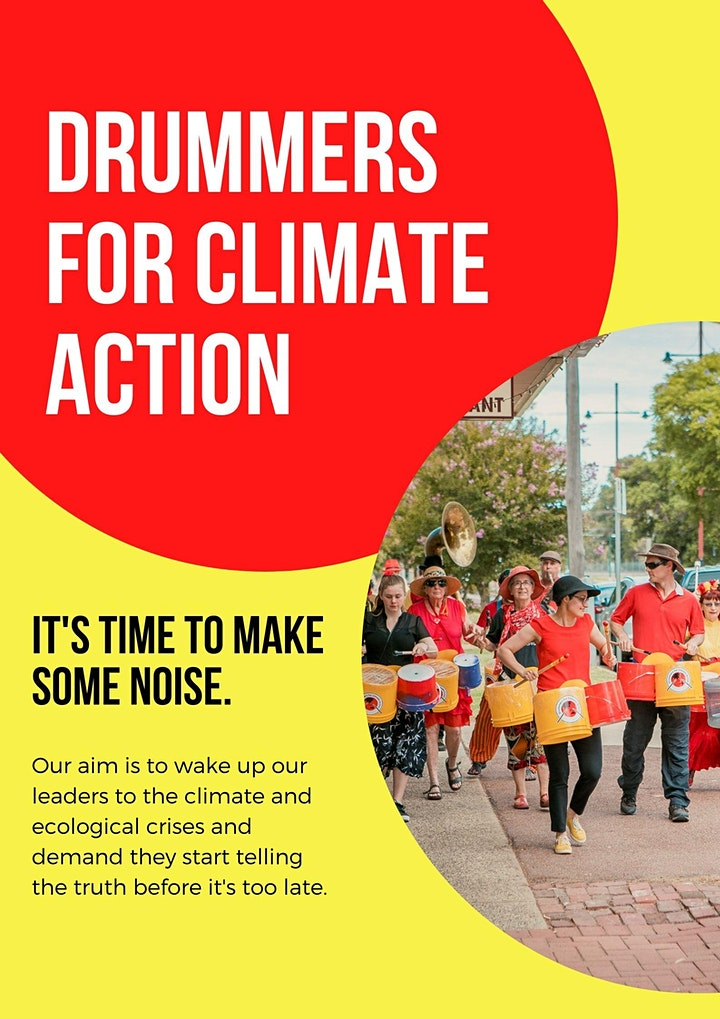 Drumming for Climate Action: Workshop with Junkadelic image