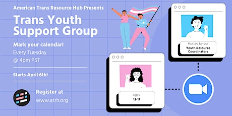 Trans Youth Support Group tickets