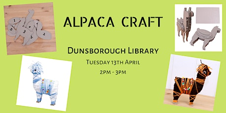ALPACA CRAFT! Dunsborough Library tickets