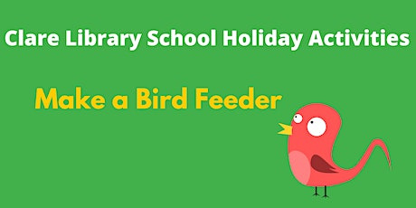 Make a bird feeder tickets