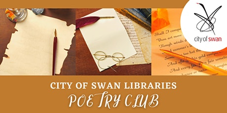 Poetry Club: Observation and the Senses (Beechboro) tickets