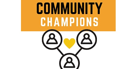 Community Champion Training Session 2 tickets