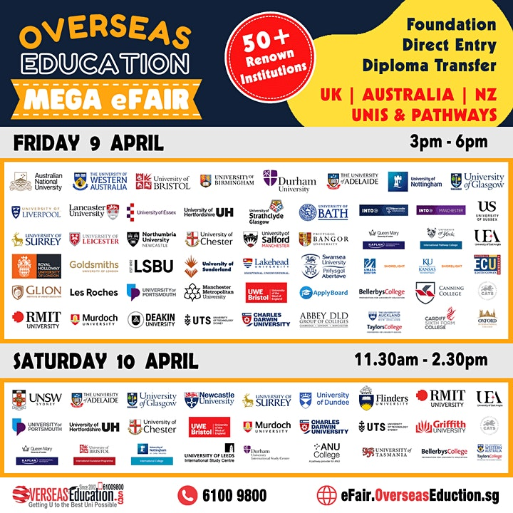 Overseas Education Mega eFair image
