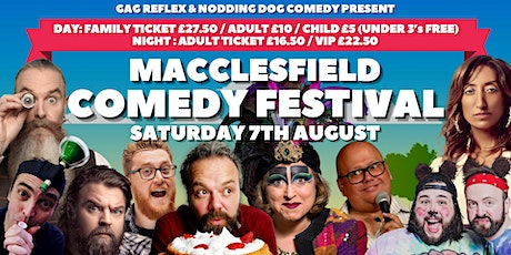 Macclesfield Comedy Festival tickets