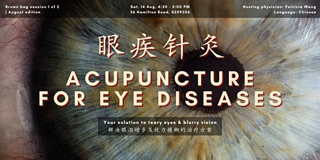 眼科疾病针灸 Eye Acupuncture | August Brown Bag session 1 of 2 tickets