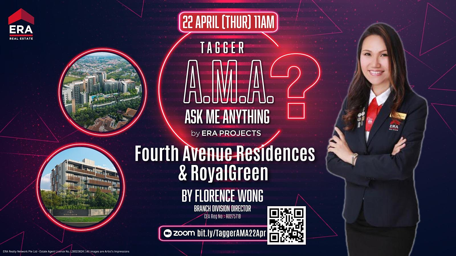 Tagger A.M.A. - Fourth Avenue Residences & Royalgreen