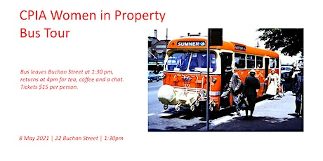 CPIA Women in Property - Bus Tour tickets