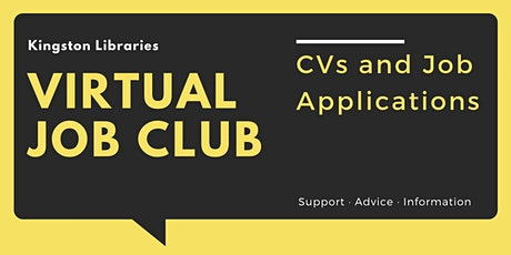 CVs and Job Applications -  Virtual Job Club tickets