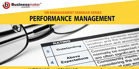 Live Webinar: Performance Management tickets