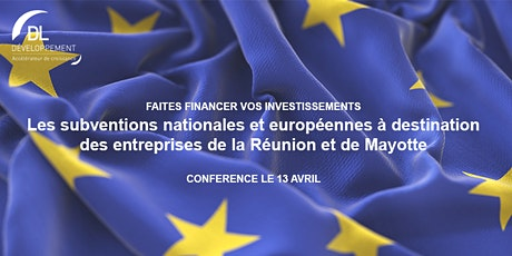 Les subventions nationales et européennes à la Réunion  et à Mayotte billets