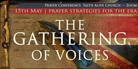 The Gathering Of Voices - Prayer Conference tickets