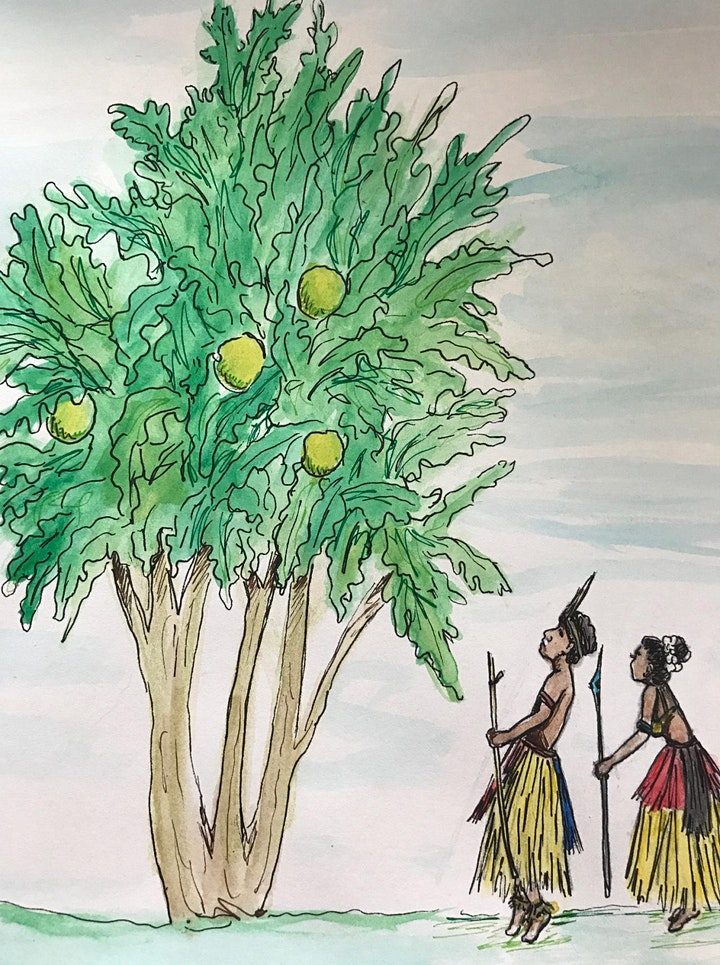 The First Breadfruit Tree: Art Workshop for Children and Young People image