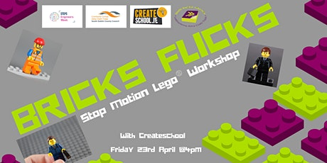 Brick Flicks - Stop Motion with Lego Animation Workshop tickets