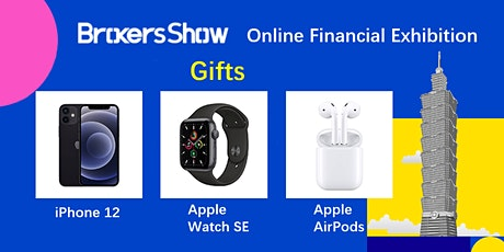 BrokersShow 2021 Virtual Expo Taiwan Station, Online Financial Exhibition entradas