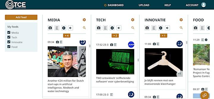 Afbeelding van MediaTalk: Een marktplaats voor content