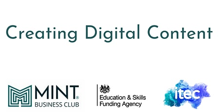 Creating Digital Content for Business tickets