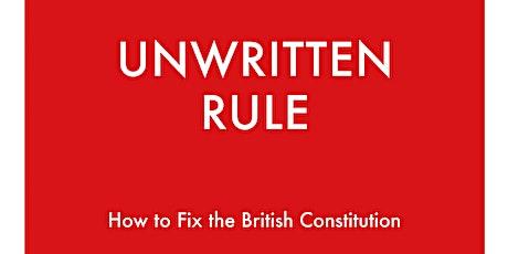 Book Launch - Unwritten Rule tickets