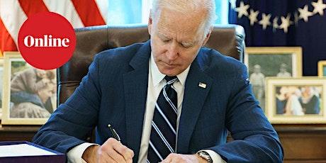 Guardian Newsroom: 100 days of Biden's presidency tickets