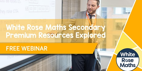 **FREE WEBINAR** WRM Secondary Premium Resources Explored - 17.05.21 tickets