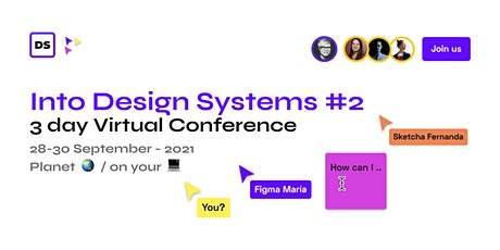 Into Design Systems - Online Conference #2 tickets