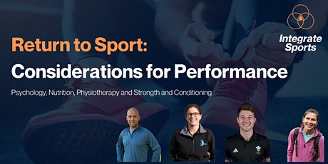 Return to Sport: Considerations for Performance tickets