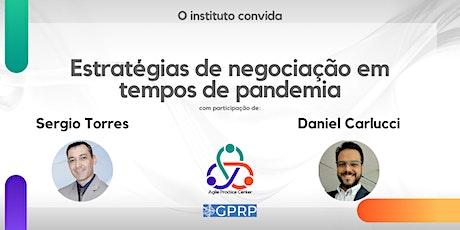 Estratégias de negociação em tempos de pandemia ingressos