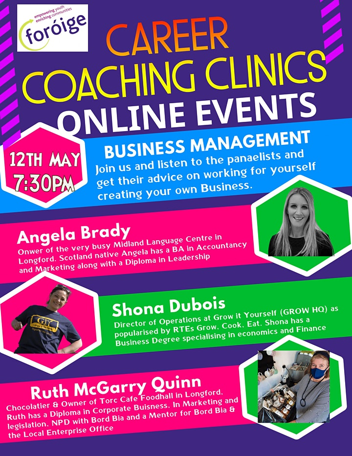 Foróige's Career Coaching Clinics - Business Managment image