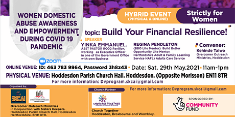 Build Your Financial Resilience tickets