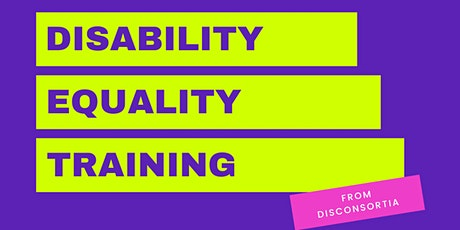 Disability Equality Training tickets