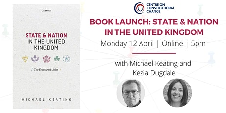 Book Launch: State & Nation in the United Kingdom tickets
