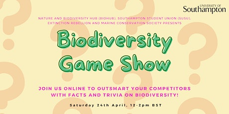 Biodiversity Game Show tickets