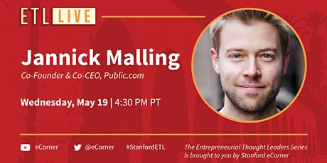 Jannick Malling, Co-founder and Co-CEO, Public.com tickets