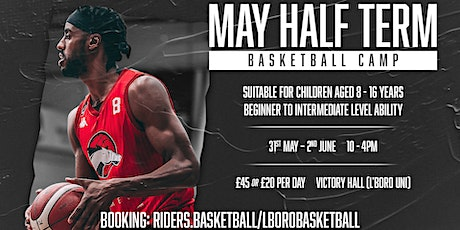 May Basketball Camp tickets