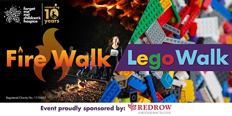 Fire & Lego Walk 2021 - Forget Me Not Children's Hospice tickets