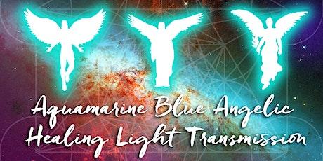 Webinar: Aquamarine Blue Angelic Healing Light Transmission tickets