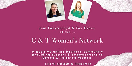 G  & T Women's Network April Meeting biglietti