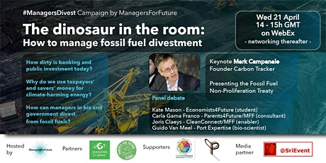 Dinosaur in the room: how to manage fossil fuel divestment (MFF) tickets